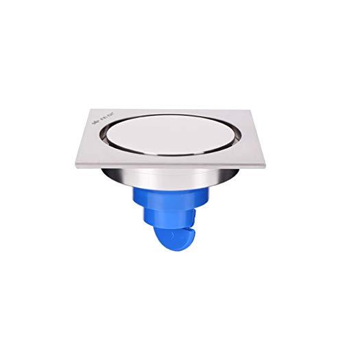 LXDXKA Kupfer Bodenablauf Dusche Toilette Küche Innenhof Anti-Geruch Insektenschutz Bodenablauf Farbe  A