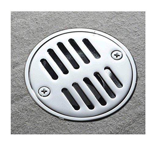 popowbe Tile Einsatz rund Dusche Bodenablauf Reiben Badezimmer unsichtbar Remasuri Badezimmer Dusche deodorization Typ Kupfer