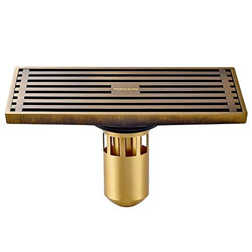 YYROP dusche entwässerung Lange Deodorant bodenablauf nass und trocken Bad küche Balkon schädlingsbekämpfung antiken bodenablauf universal 200  80mm