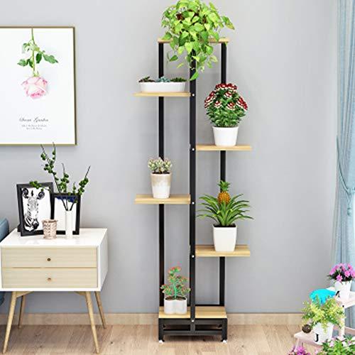 SBS Blumenständer Blumenregal Blumen Rack Aus Massivholz Pflanzentreppe Für Innen-Balkon Wohzimmer Outdoor Garten Dekor PflanzenregalD