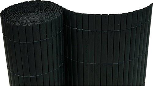 PVC Sichtschutzmatte 120x500 cm schwarz