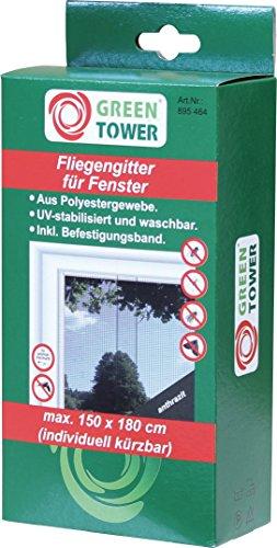 Fenster FliegengitterInsektennetzInsektenschutzanthrazitB x H 150 x 180 cm 4