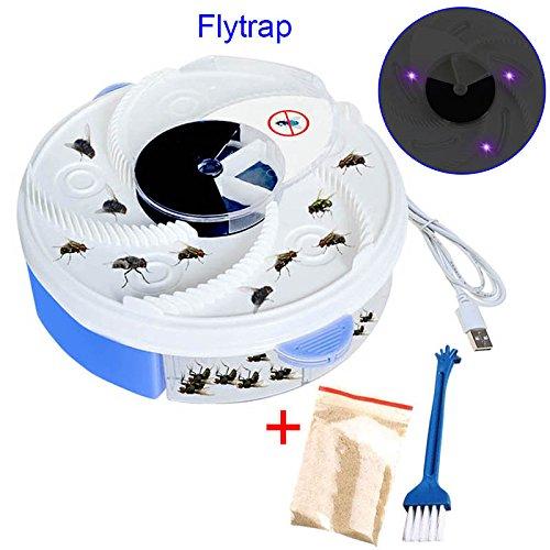 Starall Fliegen-Moskito-Wanzen-Falle elektrisches UV-Licht-purpurrotes Entwurfs-Fliegen-Mide-Fangen-Gerät mit Überfall-Lebensmittel USB-Kabel für Haupthotel-Restaurant BUE