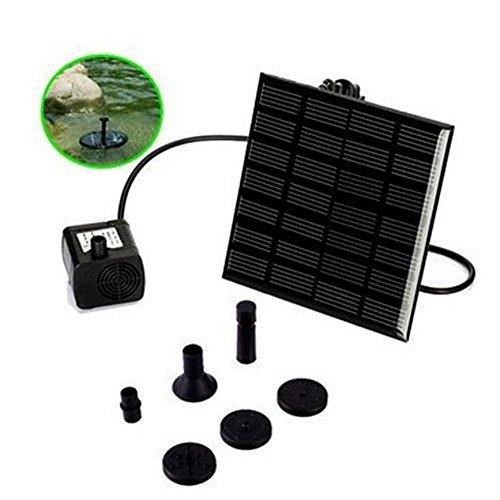 Broadroot Sonnenenerie Solar Brunnen-Pool-Wasser-Pumpen-Garten-Bewässerung