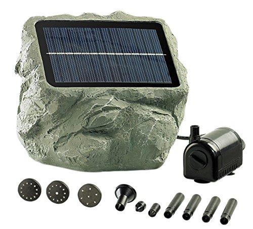 Royal Gardineer Solar Teichpumpe Solarbetriebene Teichpumpe Biosphere Solarpumpe Teich
