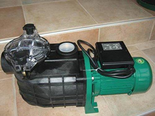 Leis 1100 Poolpumpe 198 m³ Pumpenleistung Filterpumpe Schwimmbadpumpe Pumpe Pool Schwimmbad