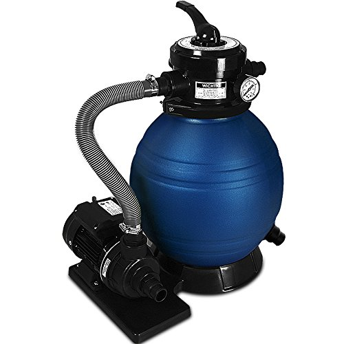Deuba Sandfilter Sandfilteranlage 10 m³h - Poolfilter Filteranlage Filterkessel