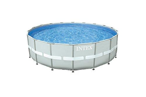 Intex Ultra Rondo II Frame Pool Set für den Sommer grau 549 x 132 cm