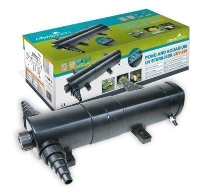 All Pond Solutions Teichklärer Wasserklärer UV-C Lichtfilter Aquarium Wasser UV-Sterilisator CUV-236