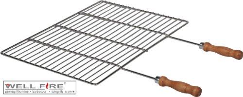 Grillrost 60x40 cm Edelstahl