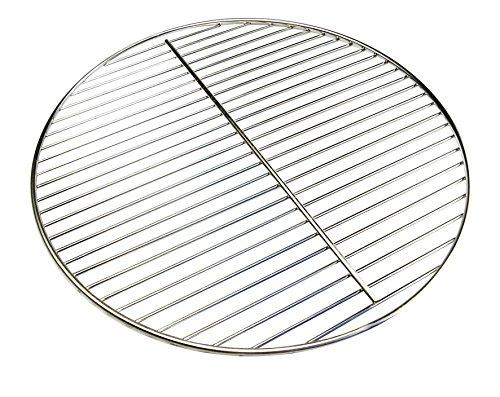 AKTIONA Ø 545 cm Chrom Grillrost  Stab zu Stab nur 10 mm  für Kugelgrill 55 56 57 Weber geeignet 4mm Stabdurchmesser Grill Rost Rundgrill rund