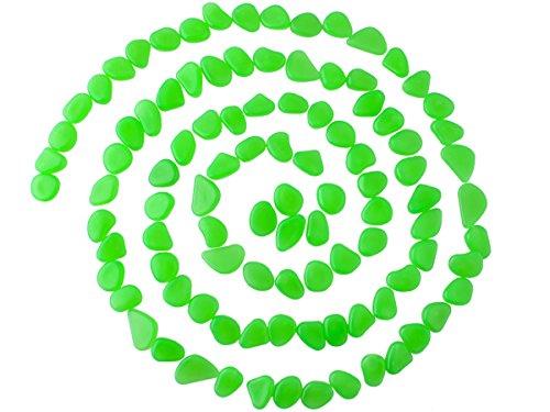 Iso Trade Leuchtsteine Leuchtkiesel Dekoration Nachtleuchtende Steine Floureszierend 5186