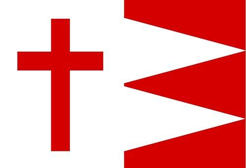 magFlags Flagge Large Kazbegi  KAZBEGI  Querformat Fahne  135m²  90x150cm » Fahne 100 Made in Germany