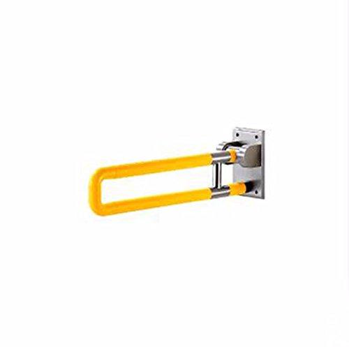 QPSSP Falten Armlehne 12 Mm - Basis Die Anti - Rutsch - Barriere Badezimmer Mit Wc Wc - Sitz Weiße Länge 75Cm60