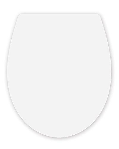 topseat Duroplast WC Sitz Rückseite Edge weiß