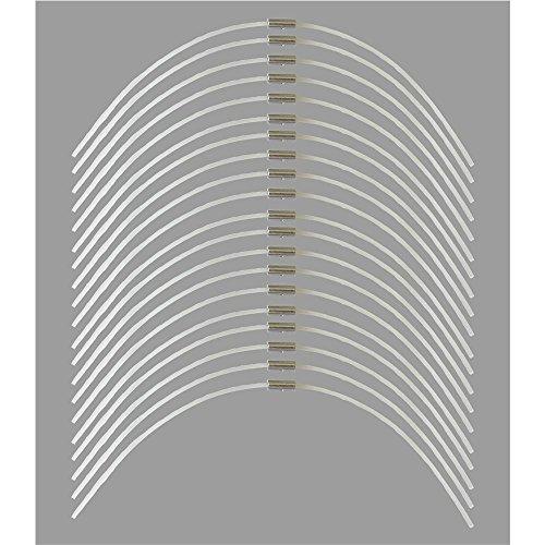 20 Ersatzfaden Florabest FRT 5008 Elektro Rasentrimmer LIDL - Trimmerfaden - Fäden