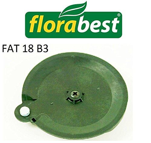 Schneidscheibe FAT 18 B2 Florabest LIDL Akku Rasentrimmer Messerhalterung Cutting Disc