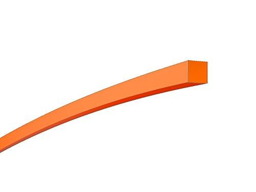 Proteco-Werkzeug Rasentrimmerfaden Durchmesser 20 mm Vierkantprofil x 100 Meter Trimmerfäden Rasen Mähfaden Ersatzfaden Rasentrimmer Nylonfaden Motorsense Trimmerschnur
