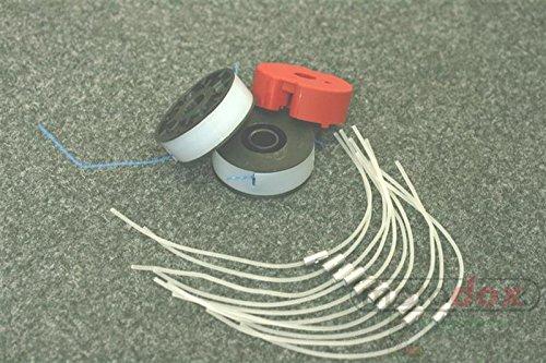 10 Fäden  2 Spulen  1 Fadenhalter Passend für EINHELL Elektro Rasentrimmer RT 5030