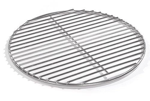 50cm Grill rund Edelstahl Kugelgrill 4mm Stäbe Grillrost V2A für Feuerschalen Grillschalen Rundgrill