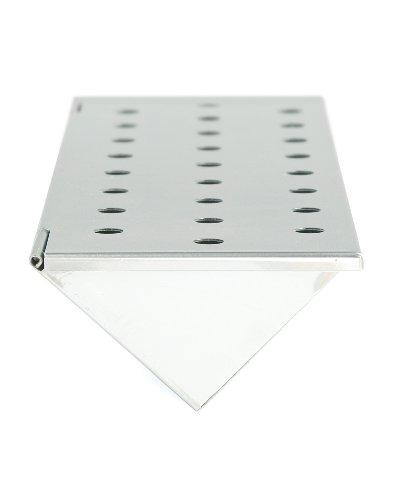 Charcoal Companion Gasgrill V-Räucherbox stahl 635 x 3505 x 1194 cm CC4066