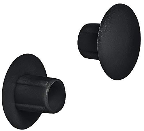 Gedotec Schrauben-Abdeckungen Kunststoff Möbel-Abdeckkappen zum Einpressen Blindstopfen rund - H1120  Ø 5 mm  für Blindbohrung  50 Stück
