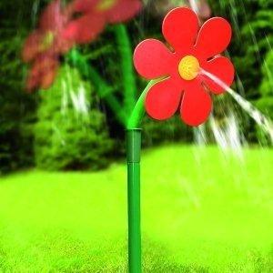 Garten-Sprinkler Rasensprenger Gartensprenger Sonnenblume 66cm