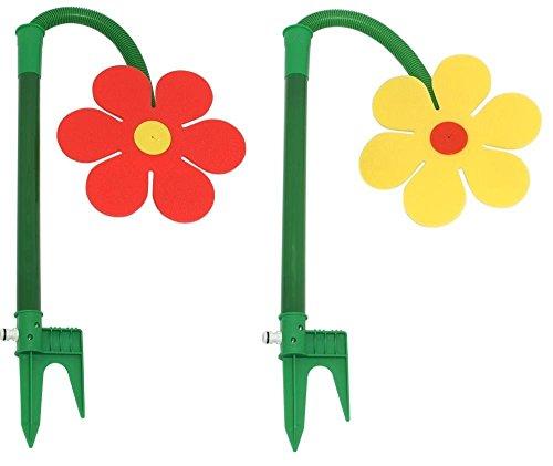 Neustanlo Tanzende Blume Rasensprinkler Bewässerung Sprenger beweglich 2er Set