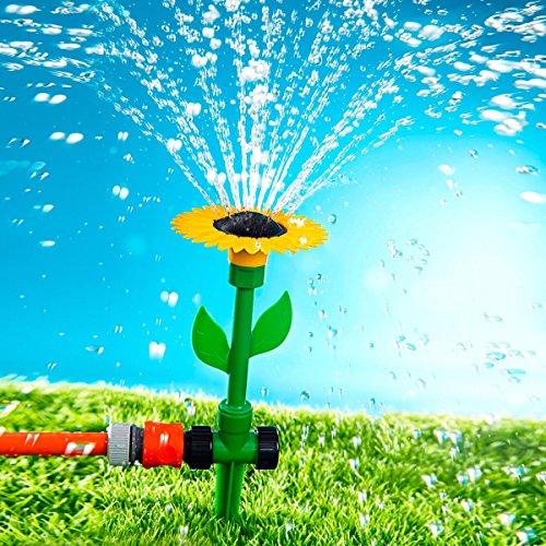 Unbekannt Rasensprinkler Sonnenblume Wassersprinkler in Sonnenblumenform