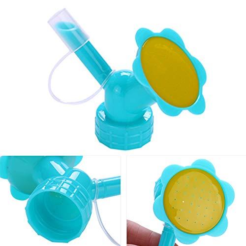 Xrten Flasche SprinklerPflanzen Bewässerung Flasche Sprinkler Flasche Bewässerung Auslauf für Wässern die Blumen
