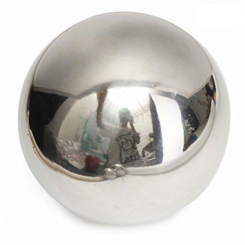 Hohle Edelstahl-Spiegelkugeln für Zuhause den Garten als Dekoration Ziergegenstand in 5 Größen Wie abgebildet 15 cm